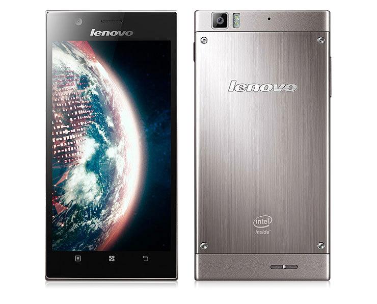 Сверхтонкий телефон в полированном металлическом корпусе - Lenovo K900