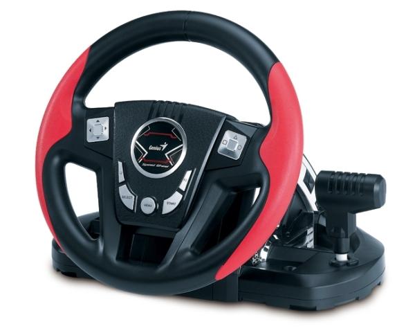 Для любителей виртуальных гонок - игровой руль Genius Speed Wheel 6 MT