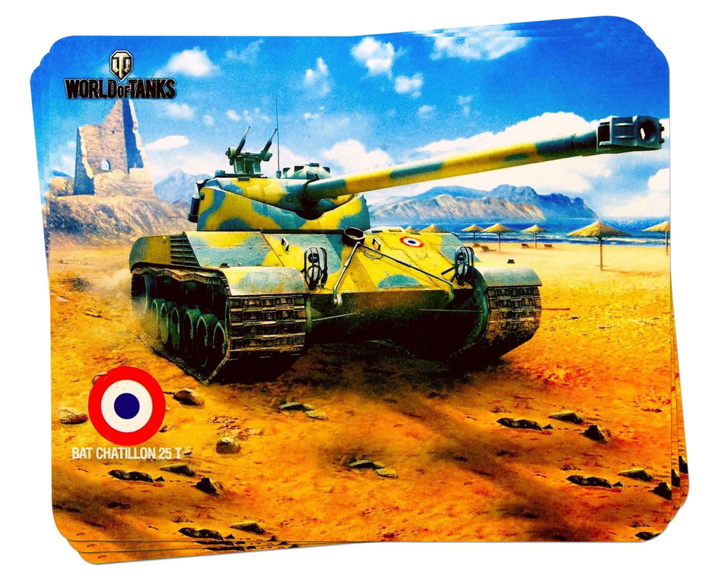 Для напряжённых моментов - игровые коврики World of Tanks!