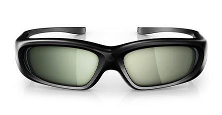 Примите участие в действии! 3D очки PHILIPS PTA508