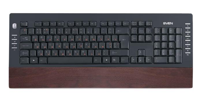 Клавиатурный эко-дизайн - SVEN Comfort 4200 Wooden