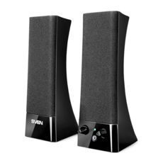 Акустическая система 2.0 SVEN 235 (black) Active system 2*2W speaker, 2mini-jack 3,5