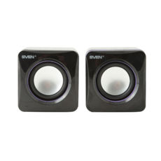 Акустическая система 2.0 SVEN 315 (black) 2*2,5W speaker, 2mini-jack 3,5 + USB