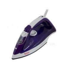 Утюг Tefal FV1526, 2000Вт, паровой удар 90г/мин, самоочистка, подошва с антипригарным покрытием, фиолетовый/белый