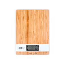Весы кухонные Magio MG-693, 5кг, электронные, стекло/дерево