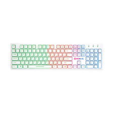 Клавиатура REAL-EL Comfort 7070 Backlit USB белая