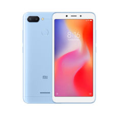 Смартфон Xiaomi Redmi 6 4GB/64GB EU Blue 12 мес гарантии