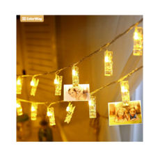 Светодиодная гирлянда СolorWay с прищепками для фото 30 LED/4.5M