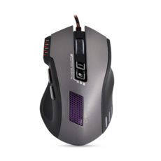 Мышь Crown CMXG-711, игровая USB, чорний