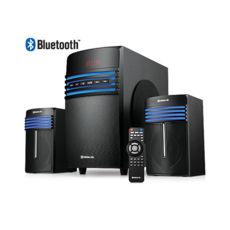 Акустическая система 2.1 REAL-EL M-540, чорний (58Вт, Bluetooth, FM-тюнер, USB/SD, дисплей, ПДУ)