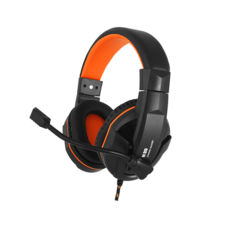 Наушники Gemix N20 black-orange игровые