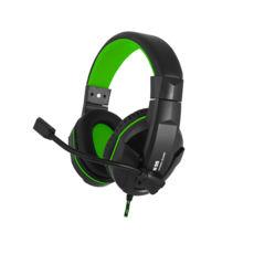 Наушники Gemix N20 black-green игровые