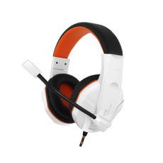 Наушники Gemix N20 white-black-orange игровые