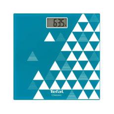 Весы напольные электронные Tefal PP1140 V0, 150кг, электронные, стекло/голубой
