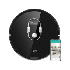 Робот-пылесос A7 ILIFE  Rated power 22 Watts | Dimensions 330x320x76mm | Unit Net Weight 2.5 kg