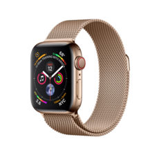 Часы Apple Watch Series 4 GPS,Lte,40mm, Gold Stainless Steel, Gold Milanese Loop (mtut2)