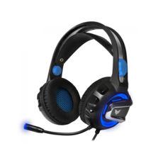 """Гарнитура игровая Crown CMGH-3101 (USB 2.0/Virtual sound 7.1, налаштування акустичного оформлення, режим посилення звуку кроків, голосовий модулятор /Функція """"Віброшок"""