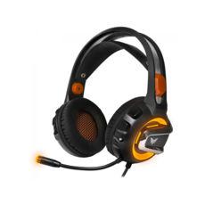 """Гарнитура игровая Crown CMGH-3103 (USB 2.0/Virtual sound 7.1, налаштування акустичного оформлення, режим посилення звуку кроків, голосовий модулятор /Функція """"Віброшок"""