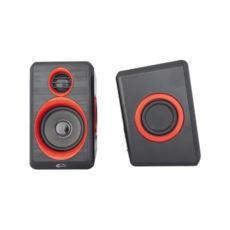 Акустична система 2.0 Gemix G-100 black/red, 2 х 3 Вт, USB