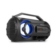 Портативні колонки REAL-EL X-710, чорний (10Вт, Bluetooth, FM, USB, AUX, microSD,1500мА*ч)