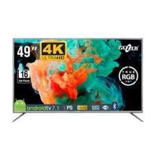 """Телевизор Gazer 49"""" Ultra HD LED IPS ANDROID 7.1 TV, DVB-C/T2/S2, 4K HDR, Wi-Fi, Bluetooth 4.0, Dolby audio, AppStore, мобильное приложение, миниатюрный дизайн пульта управления"""