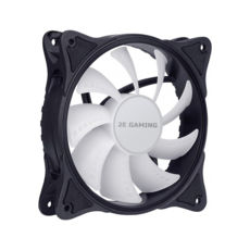 Вентилятор 120 mm 2E GAMING (F120IR-ARGB), 3+3pin 5V Aura, чорні лопаті,рамка, inner LED